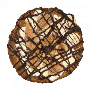 Boy Scout cookie - snickerdoodle cookie with a S'More topping
