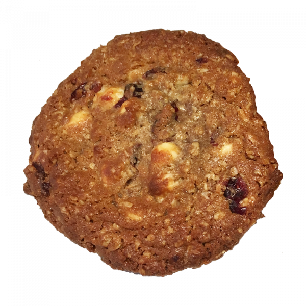 Oatmeal white chocolate cranberry cookie